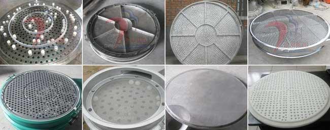 振动筛冲孔板展示图