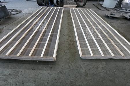 直线振动筛木质网架